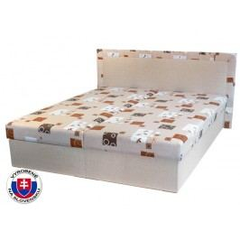 Manželská postel 160 cm - Mitru - Hedviga (s pružinovou matrací)