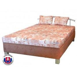 Manželská postel 140 cm - Mitru - Maša (s molitanovou matrací)