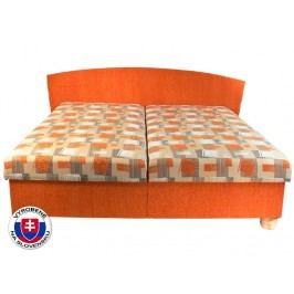 Manželská postel 180 cm - Mitru - Milano (s pružinovou matrací)