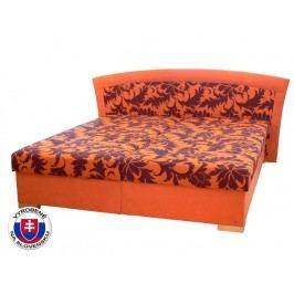 Manželská postel 180 cm - Mitru - Pescara (se sendvičovou matrací)