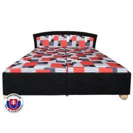 Manželská postel 180 cm - Mitru - Roma Lux (se 7-zónovou matrací standart)