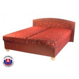 Manželská postel 160 cm - Mitru - Genova (s pružinovou matrací)
