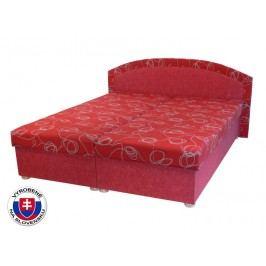 Manželská postel 160 cm - Mitru - Soňa (se sendvičovou matrací)
