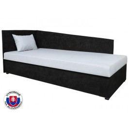 Jednolůžková postel (válenda) 80 cm - Mitru - Edo 4 Lux (se sendvičovou matrací) (L)