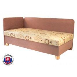 Jednolůžková postel (válenda) 80 cm - Mitru - Siba (se sendvičovou matrací) (L)
