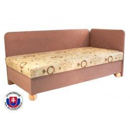 Jednolůžková postel (válenda) 80 cm - Mitru - Siba (se sendvičovou matrací) (P)