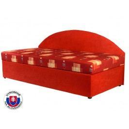Jednolůžková postel (válenda) 90 cm - Mitru - Kavy (s molitanovou matrací) (L)