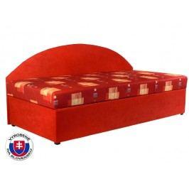 Jednolůžková postel (válenda) 90 cm - Mitru - Kavy (se sendvičovou matrací) (P)