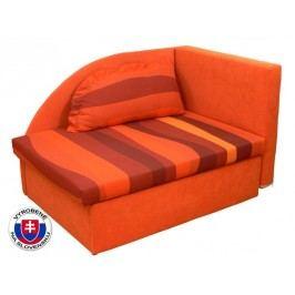 Dětská postel 80 cm - Mitru - Kubo (s molitanovou matrací) (L)
