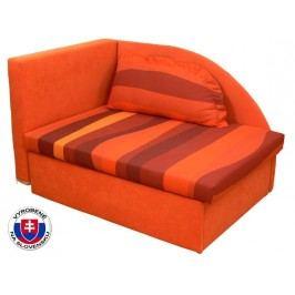 Dětská postel 80 cm - Mitru - Kubo (s molitanovou matrací) (P)