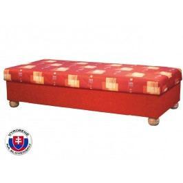 Jednolůžková postel (válenda) 90 cm - Mitru - Miki (se sendvičovou matrací)