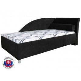 Jednolůžková postel (válenda) 90 cm - Mitru - Perla Plus (se 7-zónovou matrací lux) (P)