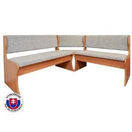 Rohová lavice - Mitru čalouněná (s molitanovou matrací)