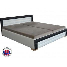 Manželská postel 160 cm - Mitru - Jarka (s pružinovou matrací)