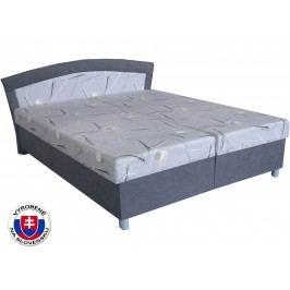 Manželská postel 160 cm - Mitru - Brigita (se sendvičovou matrací)