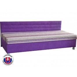 Jednolůžková postel (válenda) 110 cm - Mitru - Etile 1 (s molitanovou matrací)