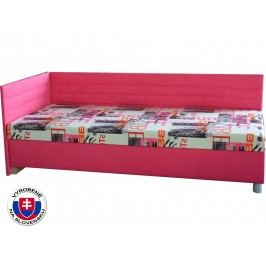 Jednolůžková postel (válenda) 90 cm - Mitru - Etile 2 (se sendvičovou matrací) (L)