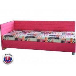 Jednolůžková postel (válenda) 90 cm - Mitru - Etile 2 (se 7-zónovou matrací lux) (L)
