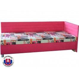 Jednolůžková postel (válenda) 90 cm - Mitru - Etile 2 (se 7-zónovou matrací standard) (P)