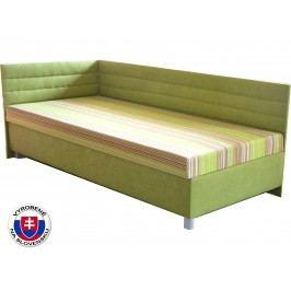 Jednolůžková postel (válenda) 100 cm - Mitru - Etile 2 (se 7-zónovou matrací lux) (L)