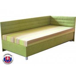 Jednolůžková postel (válenda) 100 cm - Mitru - Etile 2 (se 7-zónovou matrací standard) (P)