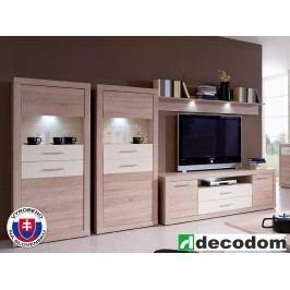 Obývací stěna - Decodom - Karibik - K 01 dub bardolino + vanilka