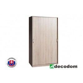 Šatní skříň - Decodom - Trio - 100/610