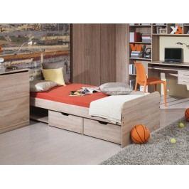 Jednolůžková postel 90 cm - Decodom - Trio
