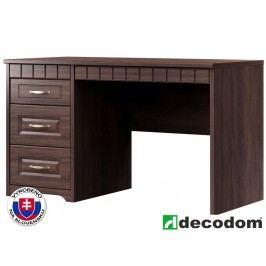 PC stolek - Decodom - Lirot - Typ 61 (dub řezaný schoko)