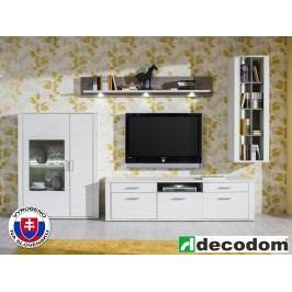 Obývací stěna - Decodom - Nurdik - Kombinace 07 s osvětlením