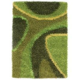 Ručně vázaný koberec - Bakero - Delphi Green