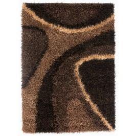 Ručně vázaný koberec - Bakero - Delphi Coffee brown