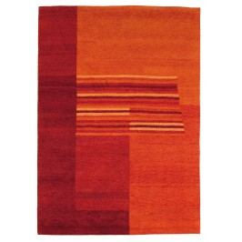 Ručně vázaný koberec - Bakero - Baku Modern B103 Red