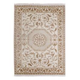 Ručně vázaný koberec - Bakero - Agra D33 White