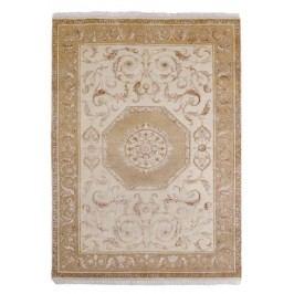 Ručně vázaný koberec - Bakero - Agra D31 Beige