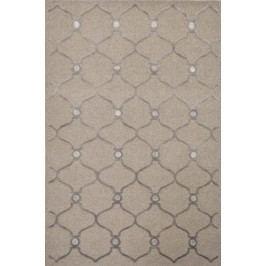 Ručně vázaný koberec - Bakero - Alicante 10-36 4640 Brown