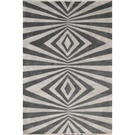 Ručně vázaný koberec - Bakero - Play (od Renata Botev) Šedo-Béžová
