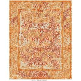 Ručně vázaný koberec - Bakero - Versailles Mb-301 Beige-Orange