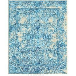 Ručně vázaný koberec - Bakero - Versailles Mb-304 Beige-Turquoise