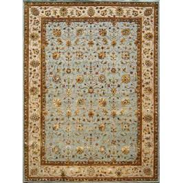 Ručně vázaný koberec - Bakero - Jaipur Bk-10 Blue-Beige
