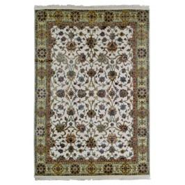 Ručně vázaný koberec - Bakero - Jaipur Nk-107 Ivory-Gold