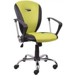 Kancelářské křeslo - Tabarez 1513 žlutá + černá