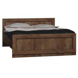 Manželská postel 160 cm - Tedy - Typ T20 (s roštem)