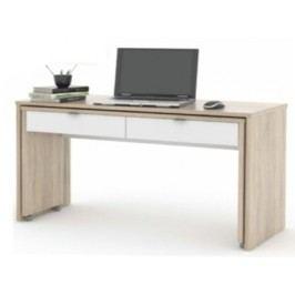 PC stolek - Versal New - Dub sonoma+Bílá