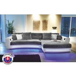 Rohová sedací souprava - Luxlaredo (P) (s audiosystémem a LED)