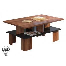 Konferenční stolek - WIP - Supra 2 (švestka + lesk černý)