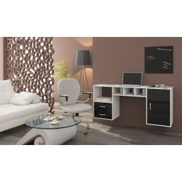 PC stolek - WIP - Hanger bílá + lesk černý