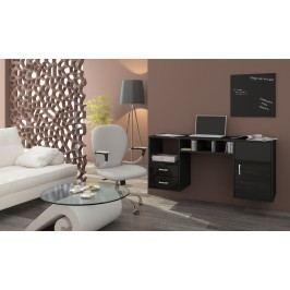 PC stolek - WIP - Hanger černá + lesk černý