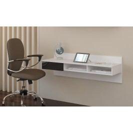 PC stolek - WIP - Uno bílá + lesk černý