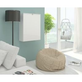 PC stolek - WIP - Hide bílá + lesk bílý
